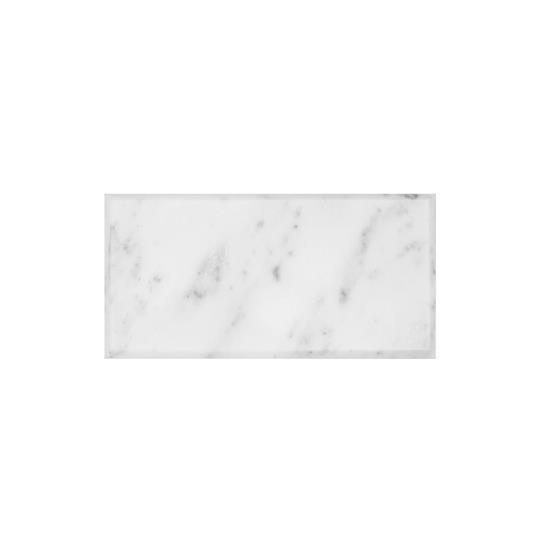 Viano White Polished Bevel Marble