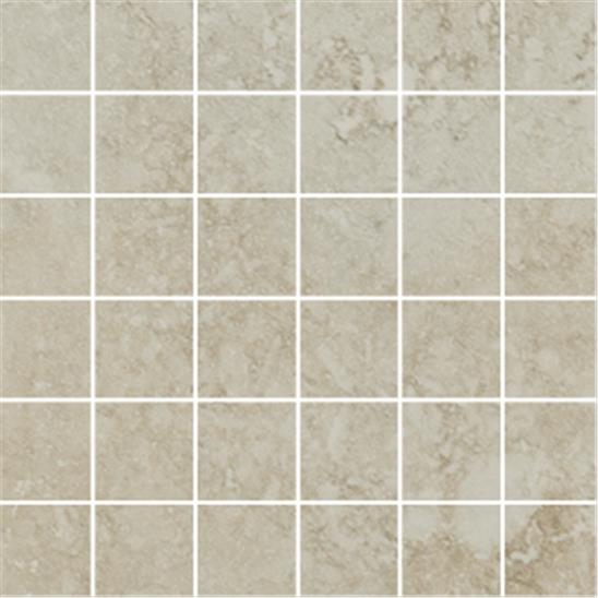 Coliseum White Mosaic Glazed Porcelain