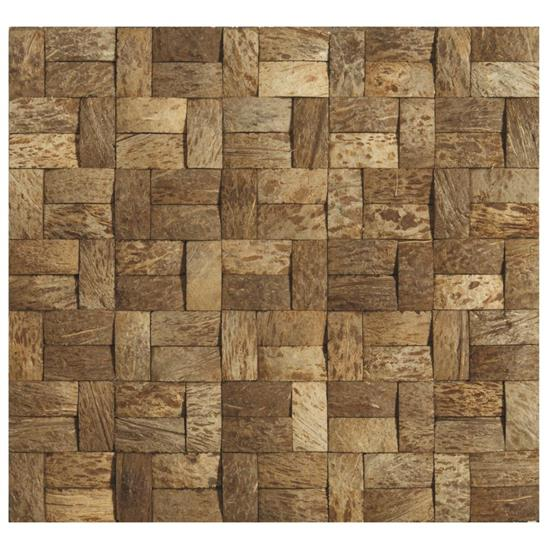 Bamboo Tiles For Bathroom: Jai Earth And Fire Mixed Mosaics Tile