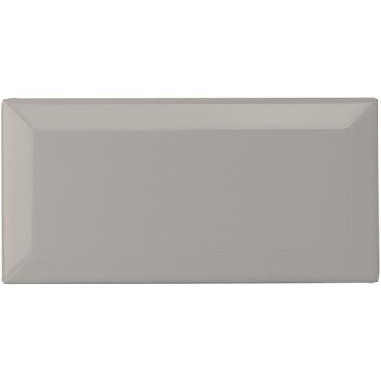 Westminster Grey Metro Bevelled Tile