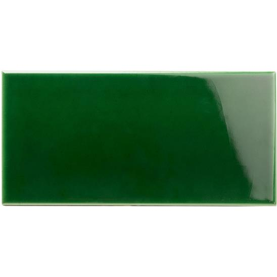 Victorian Green Half Field Tile