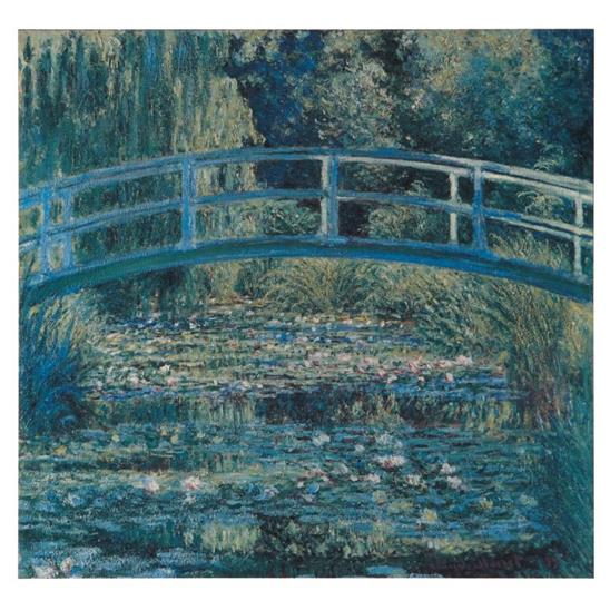 Monet: Water-Lily Pond Masterpiece Tile