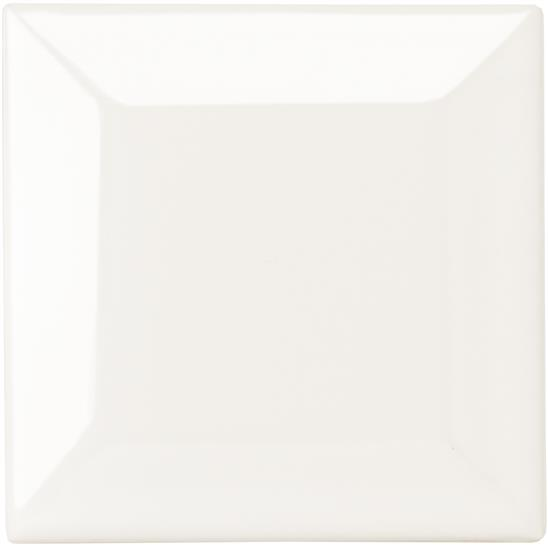 Vintage White Metro Bevelled Tile