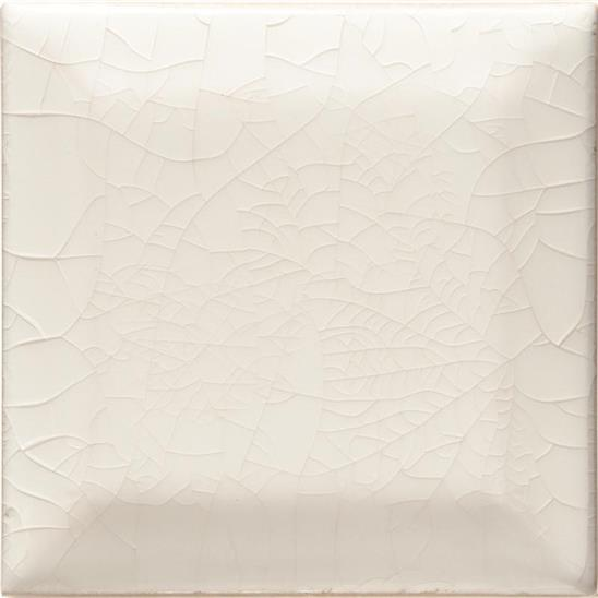 Brilliant White (crackle) Metro Bevelled Tile
