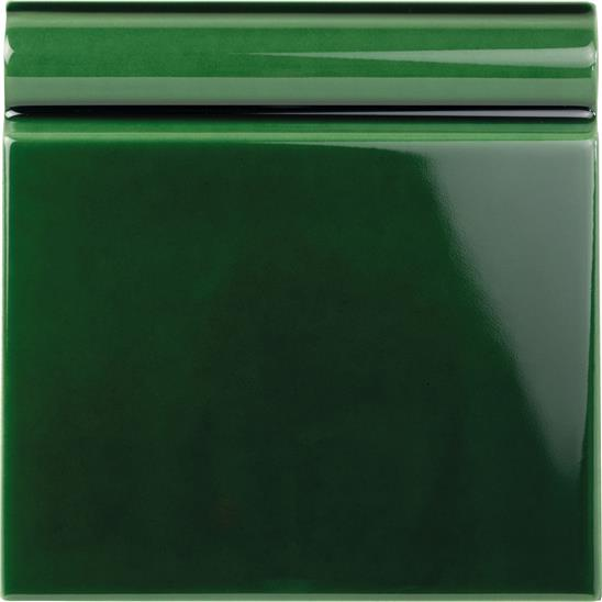 Victorian Green Skirting Tile