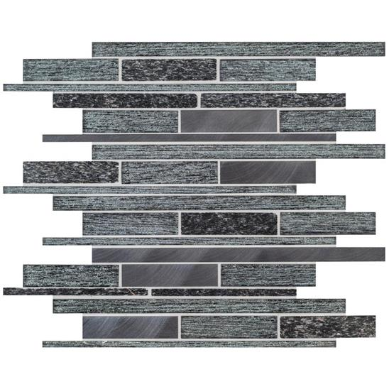 Tribune Linear Mixed Material Mosaic