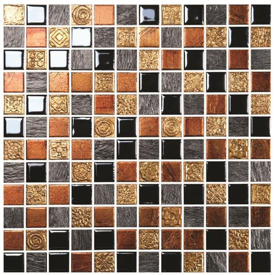 Opulence Gold Rush Glass Mosaic