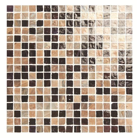 Cityscape Prague Mixed Brown Mosaic