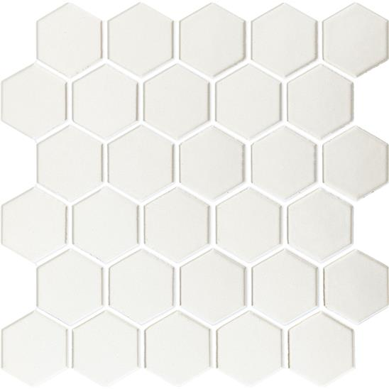 White Large Honeycomb Mosaic