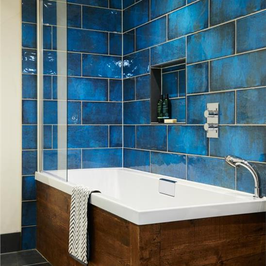 Montblanc Blue Ceramic Tile - Cerypsa ceramic tile