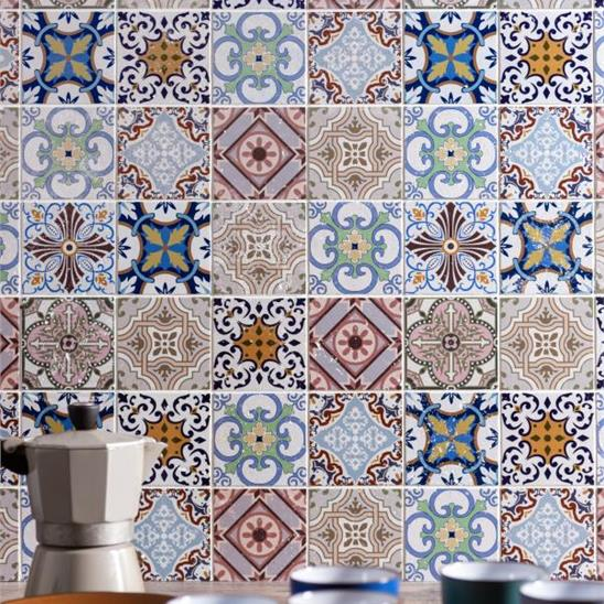 Fable Patterned Mosaic Stone Tile