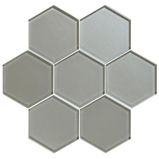 Starcia Metallic Hexagon Mosaics