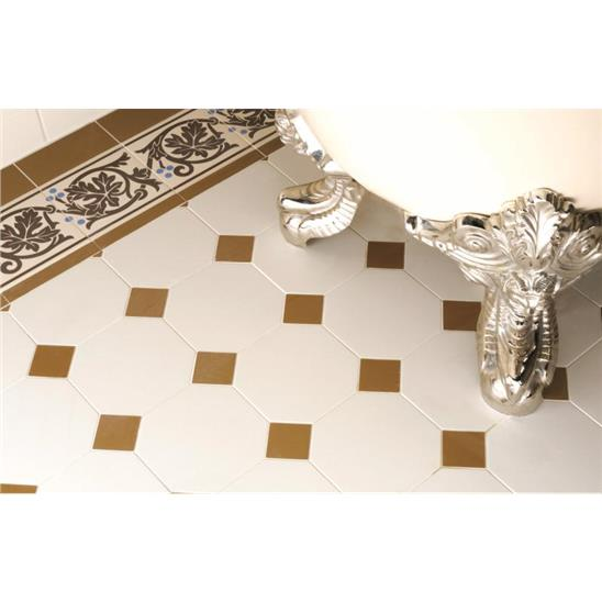 Octagon Dover White Ceramic Tile - Cerypsa ceramic tile