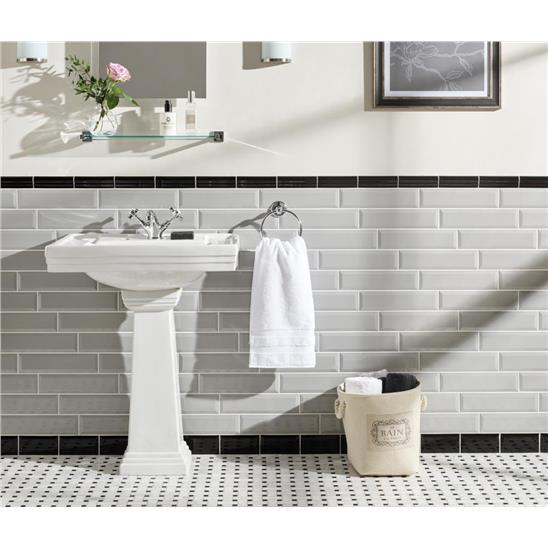 capping tiles bathroom