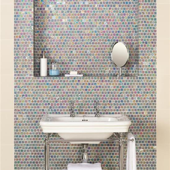 Serene Therapy Glass Mosaic