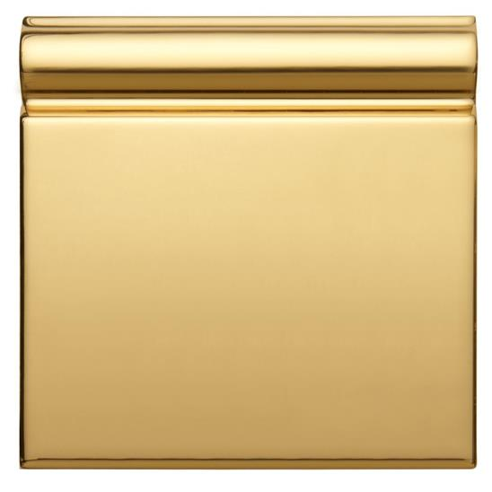 Gold (metallic) Skirting Tile