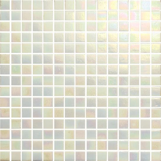 Whitney Iridescent Recycled Glass Mosaic 20mm  13/16""