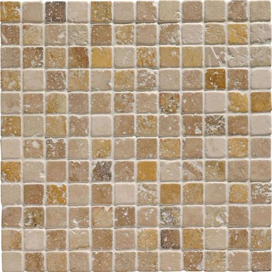 Mixed Travertine 2.3 Venetian Stone Mosaic