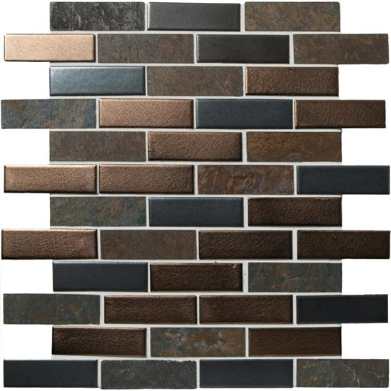 Naga Brown and Grey Mosaic