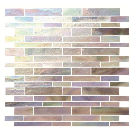 Morning Dew Glass Brickbond Mosaic