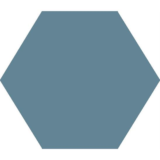 Large Hexagon Blue