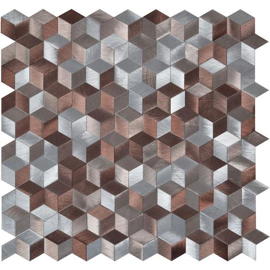 Astral Copper Aluminium Mosaic