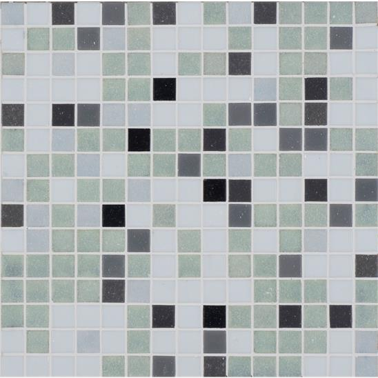 Kamet Recycled Matt Glass Mosaic 20mm 13/16""
