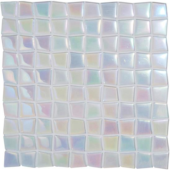 Eos Iridescent Glass Mosaic