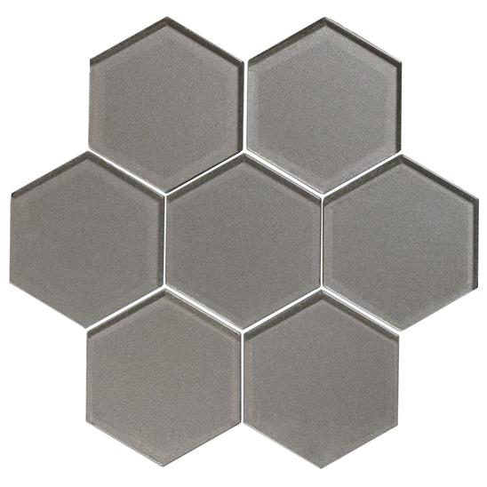 Dionysus Metallic Hexagon Mosaics