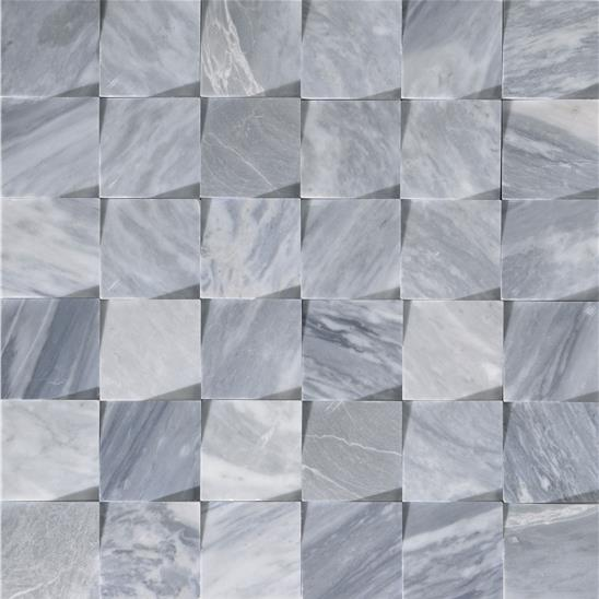 Origin Dark Grey Honed Marble Mosaic