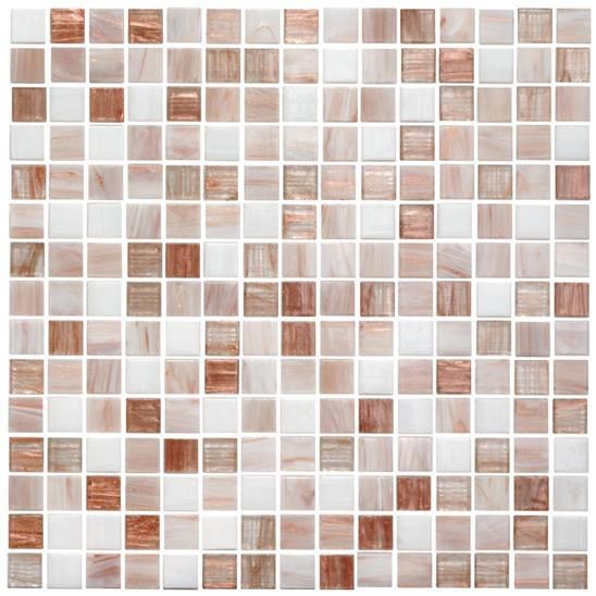 Shala Mixed Blends Glass Mosaic 20mm 13/16""