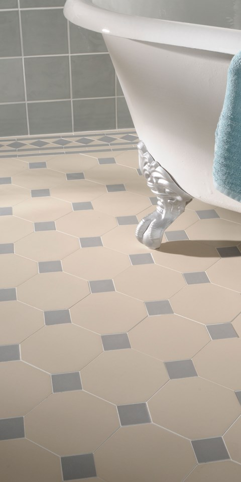 Bathroom Tile Ideas Blue And White traditional & classic bathroom tile ideas