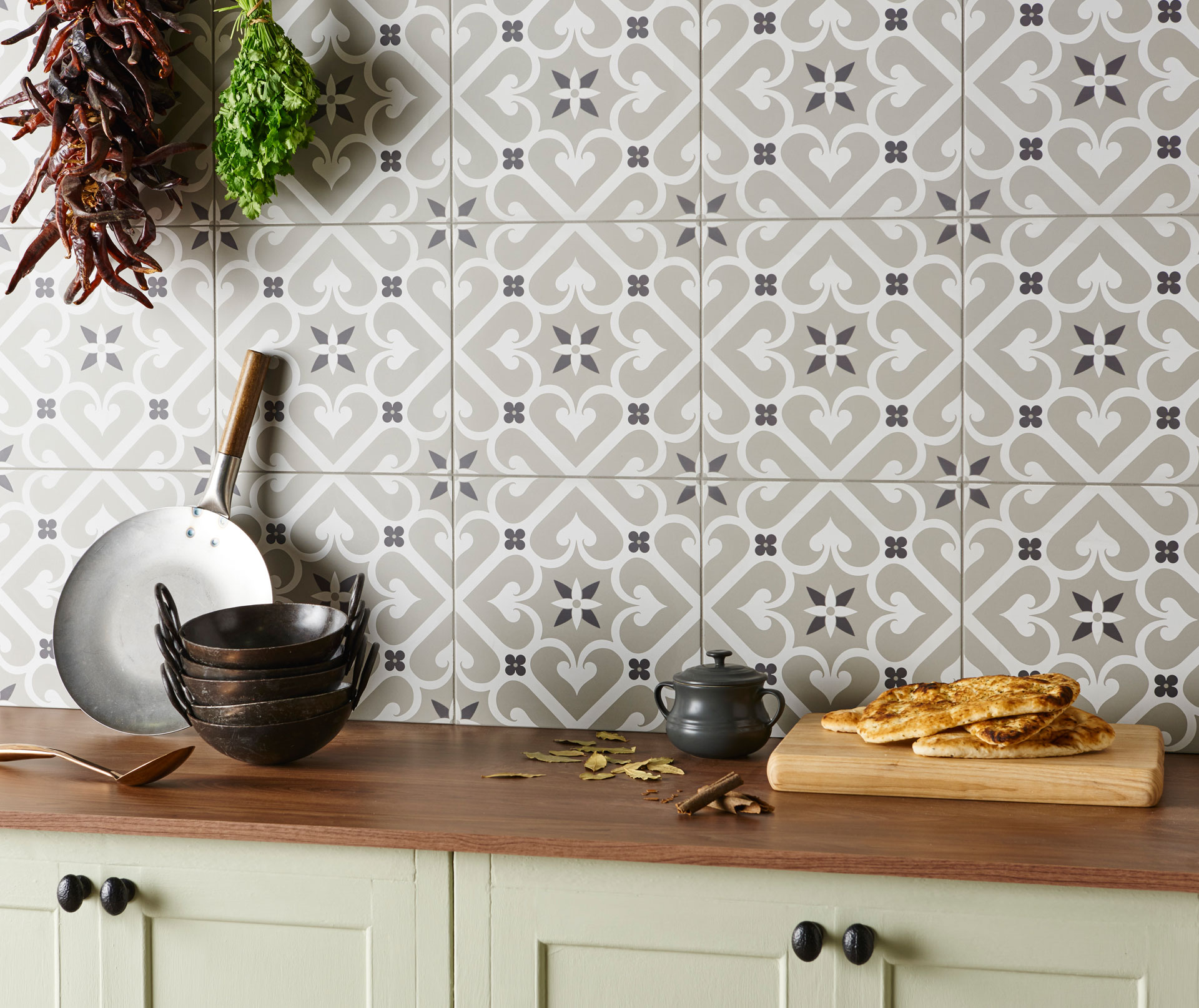 Lovely Pictures Of Kitchen Tiles Ideas Part - 7: Original Style