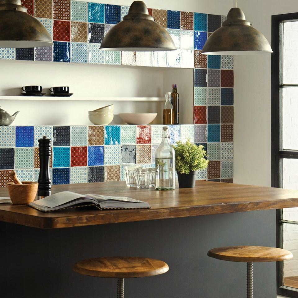 Modern Kitchen Tile Adorable Contemporary & Modern Kitchen Tile Ideas