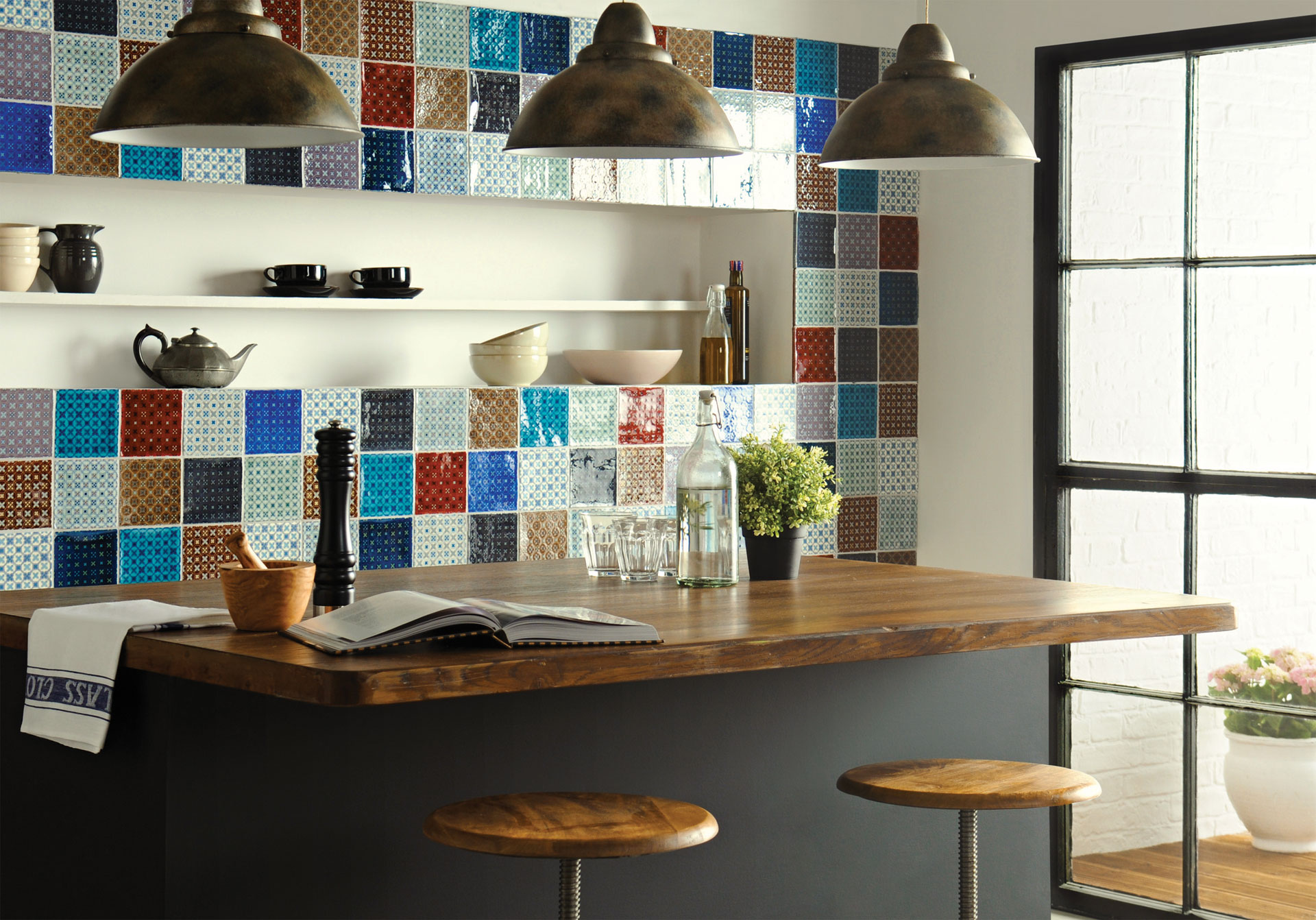 Tiles Ideas For Kitchens Part - 40: Chateaux