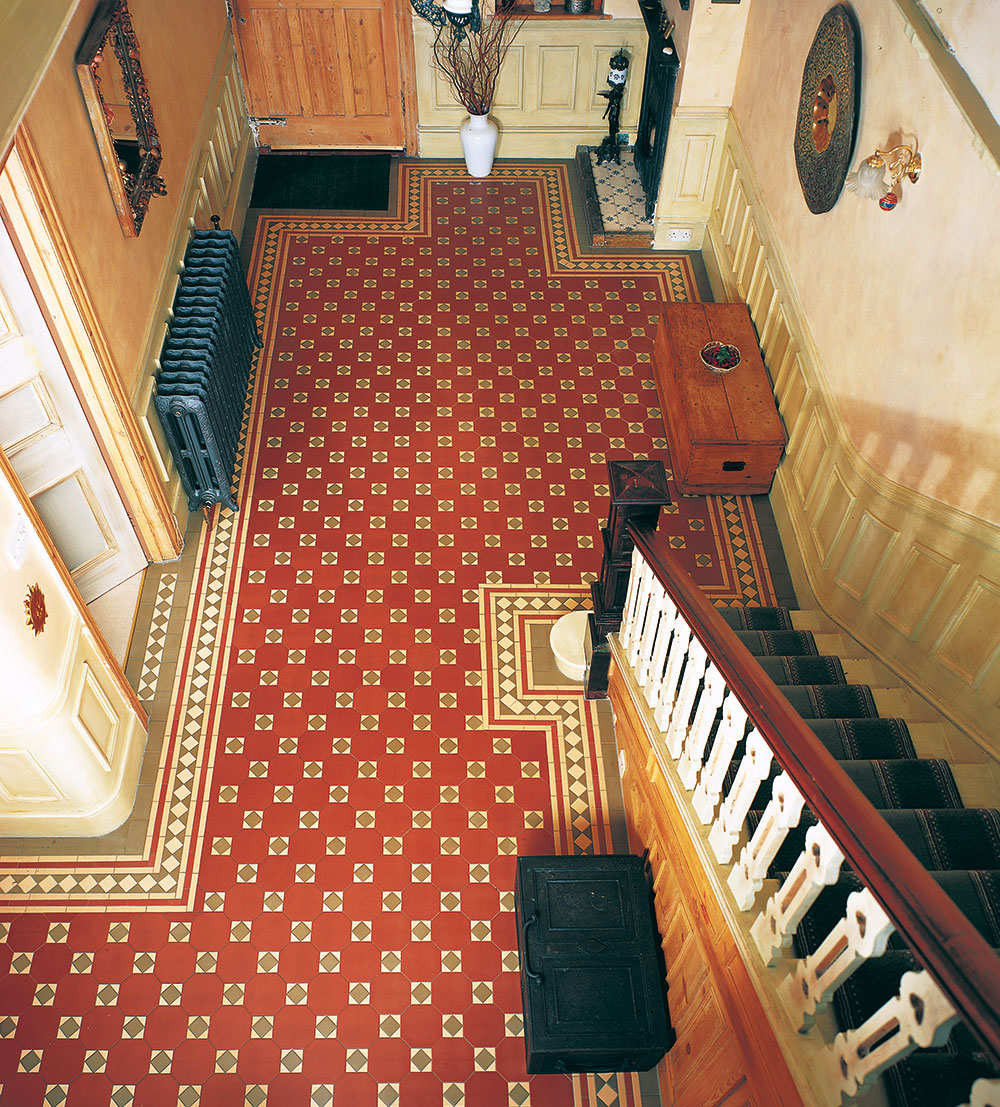 Gallery victorian floor tiles dailygadgetfo Image collections