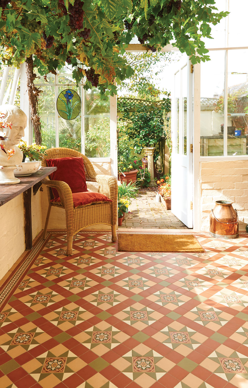 Victorian floor tile gallery dailygadgetfo Image collections