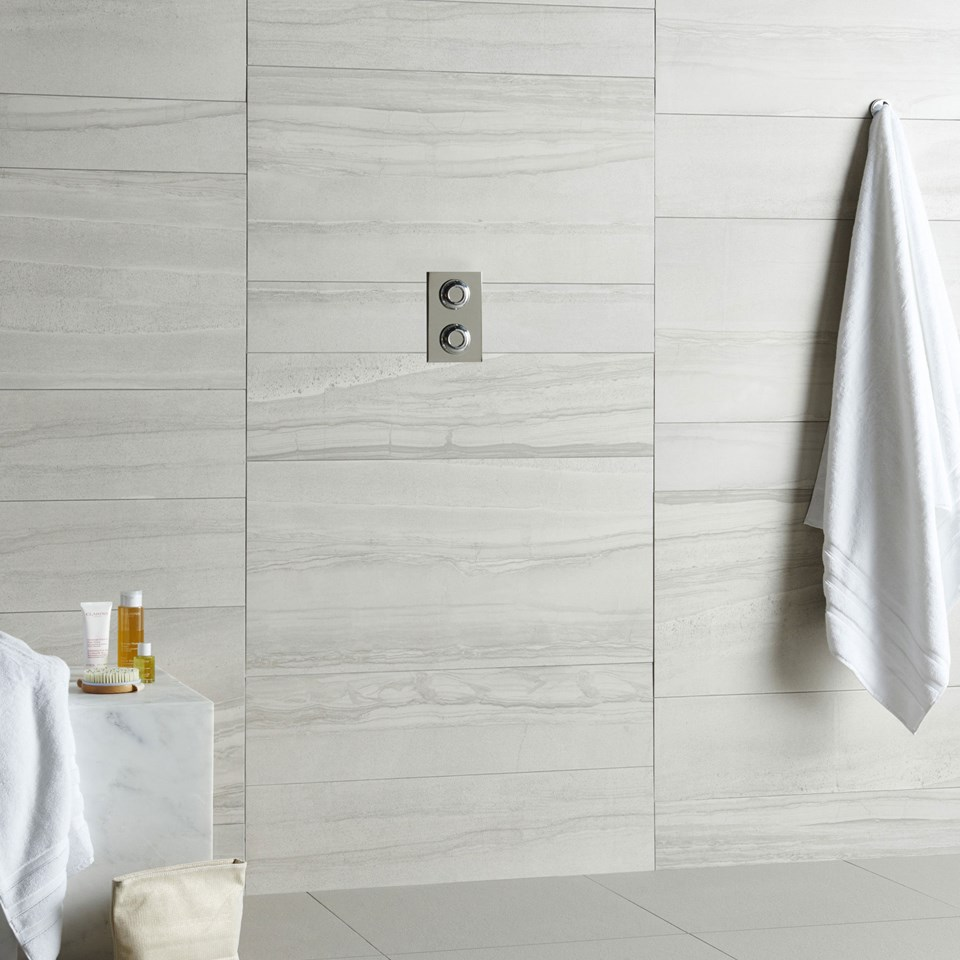 Contemporary modern bathroom tile ideas amelia white dailygadgetfo Choice Image