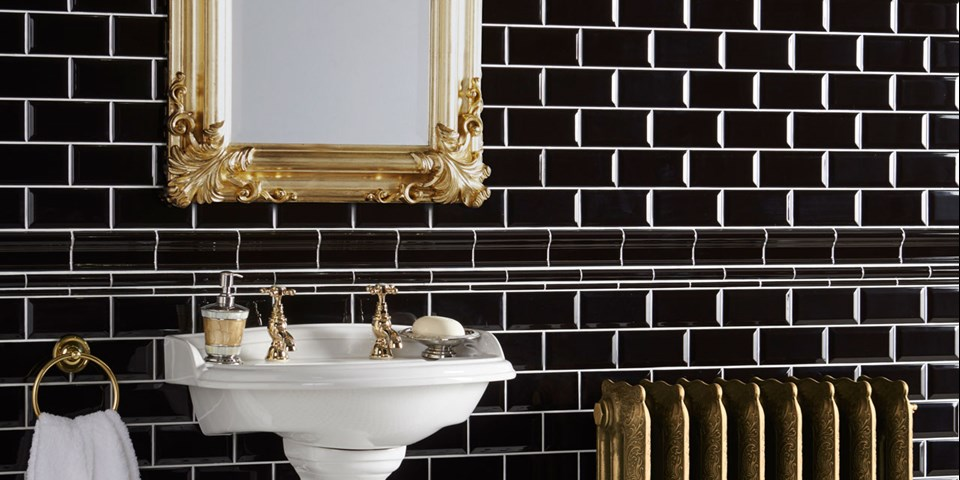 Glamour Luxury Bathroom Tile Ideas