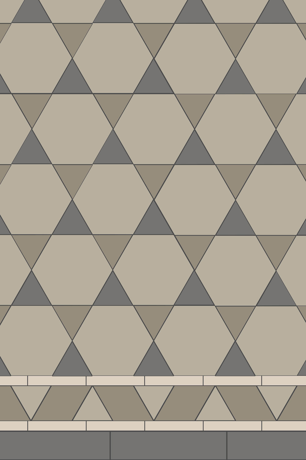 Equilateral Triangle Tile