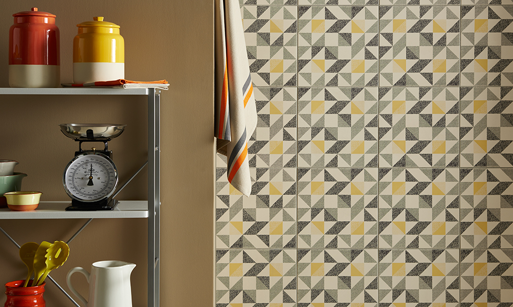 & Four tips for choosing the right colour tiles for your home