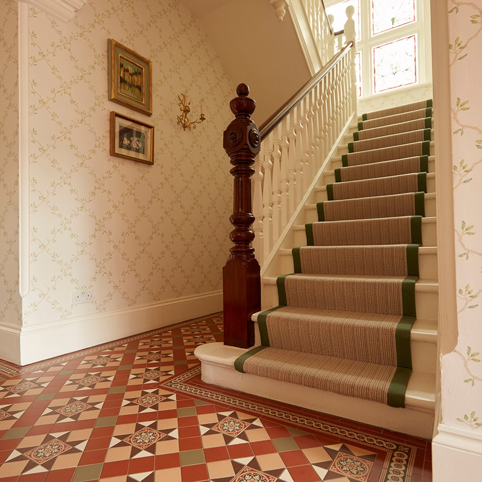 Victorian Floor Tiles –traditional AND modern (there are no