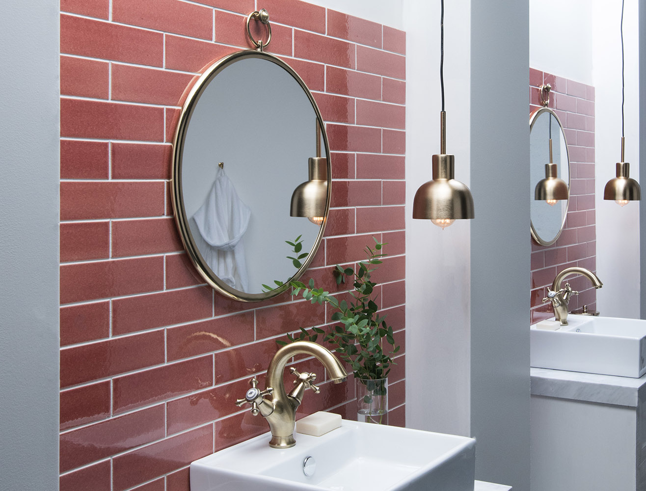 Our Top 5 Interiors Using Pink Tiles