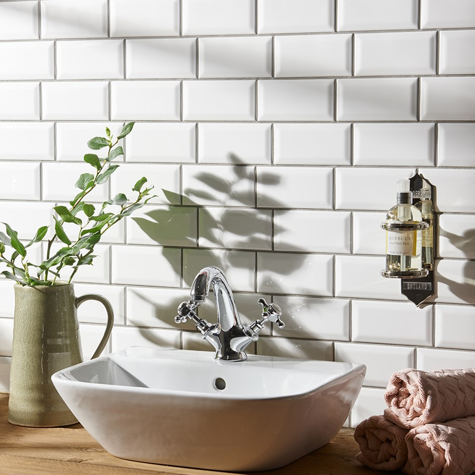 Splashback tile ideas for kitchens and bathrooms | Inspire Me