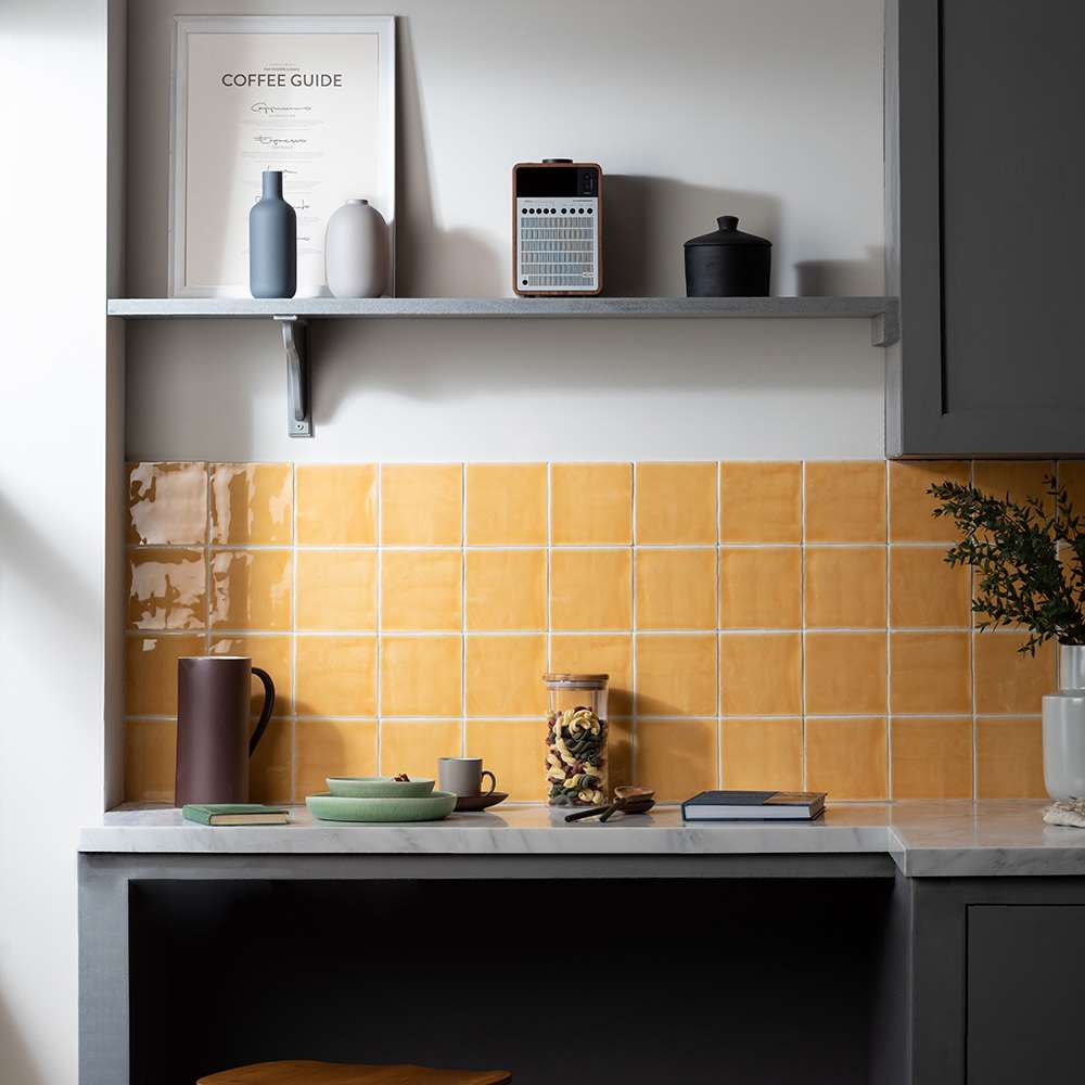 5 Kitchen style ideas using tiles