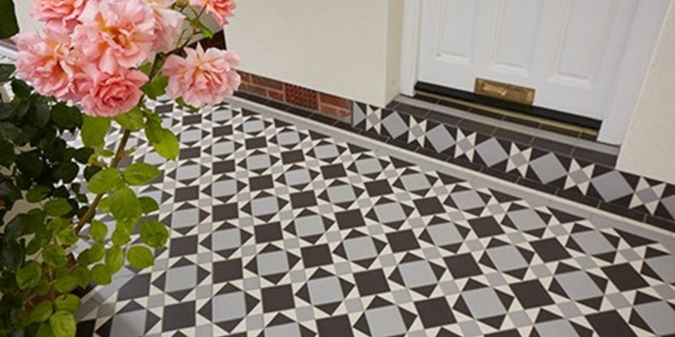 Victorian Floor Tiles - on the home front | Inspire Me