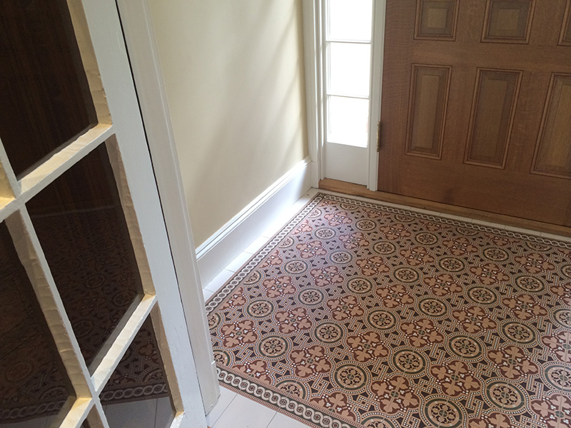 The Usa Who Used This Beautiful Salisbury Decorative Floor Tile