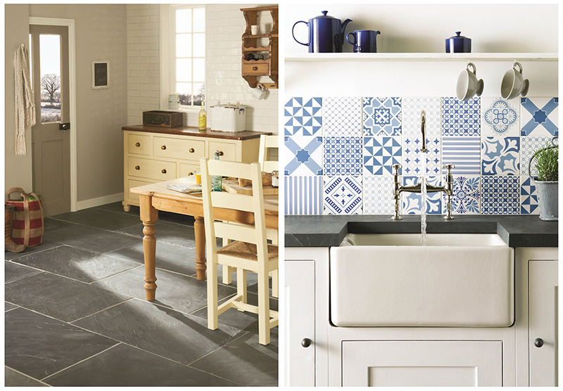Don T Be Afraid To Mix And Match Withpatterned Tiles Either This Can Create A Really Homely Feel That Is Sure Capture Attention