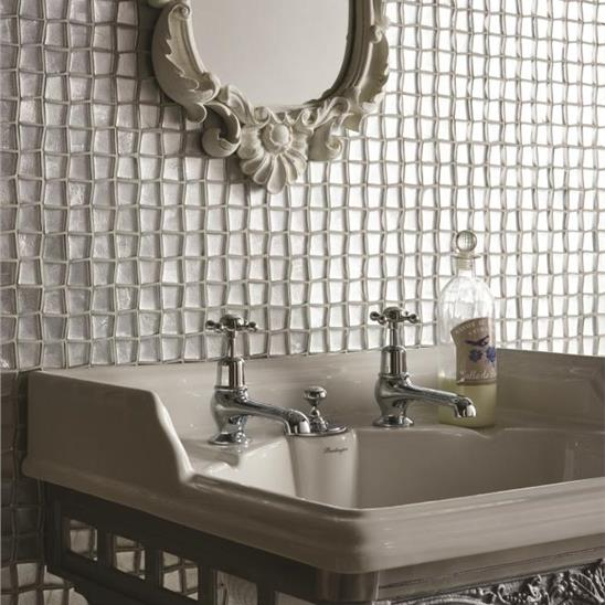 Ares Silver Foil Mosaic