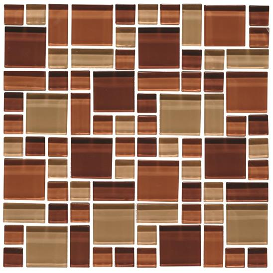 Tanganyika Random Pattern Clear Mixed Mosaic